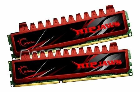 G.Skill 8GB (2 x 4GB) DDR3 PC3-12800 1600MHz Ripjaws Series (9-9-9-24) Dual Channel kit - Quad Ddr3 Gb