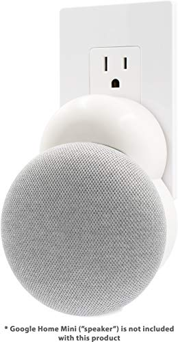 Plug-in Mount - Accessory for Google Home Mini (White)
