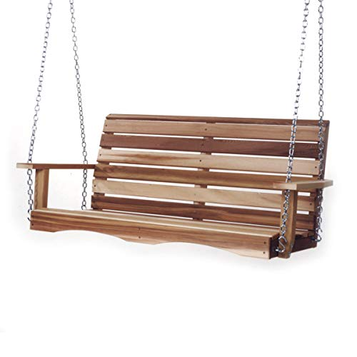 All Things Cedar PS48 Cedar Poarch Swing, 4'