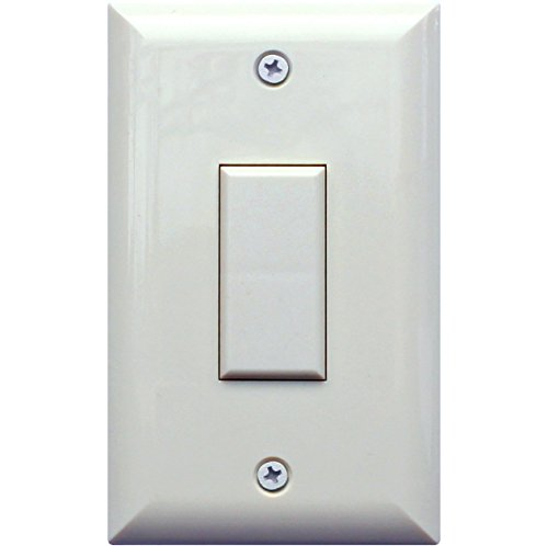 TOUCH-PLATE GENS1-0100A-WHT Genesis Series LOW VOLTAGE Wall Switch - ()