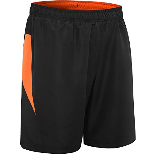 HSFEO Men's Quick Dry Workout Running Shorts 8.5