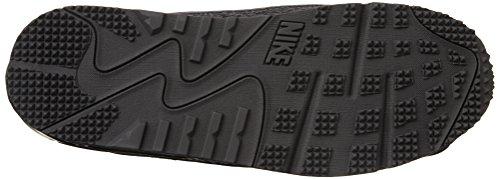 Nike Mænds Air Max 90 Hjælpeprogram, Sort / Sort-sort-mørkegrå Sort / Sort-sort-mørkegrå