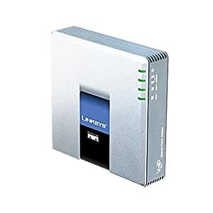 Cisco Small Business PAP2T-NA Internet Phone Adapter with 2 VoIP Ports