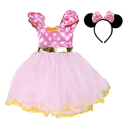 AQTOPS Princess Birthday Party Costumes for Girls -
