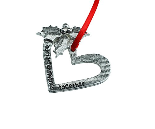 17th Anniversary Christmas Tree Ornament - Reads Our 17th Christmas Together by Pirantin (Image #2)