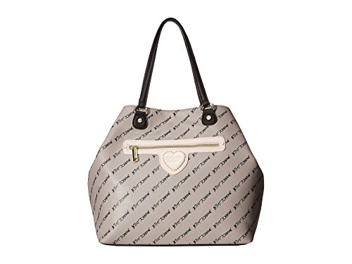 Betsey Johnson Womens Trap Tote Grey Multi One ()