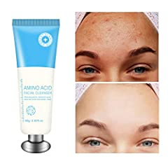 Specifications:              Type:Facial Cleanser NET WT:80g Quantity:1pc Shelf life:3 Years Size:15*4.5*4cm Skin Type:All skin types Country of Manufacture:China                               Package Included:                ...