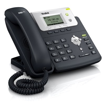 (Yealink T21P E2 IP Phone, 2 Lines. 2.3-Inch Graphical Display. Dual-port 10/100 Ethernet, 802.3af PoE, Power Adapter Not Included (SIP-T21P E2) )
