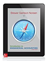 Introduction to Managerial Accounting, 7th Edition Front Cover