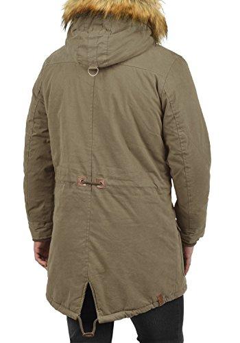 XL 5323 Vidage Men's Colour Br Shitake Size Parka Solid wTgIqI