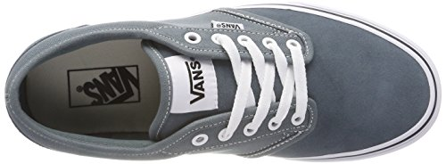 Vans Azul U0y Weather suede Stormy suede canvas white Canvas Zapatillas Hombre Atwood Para w7pYqw