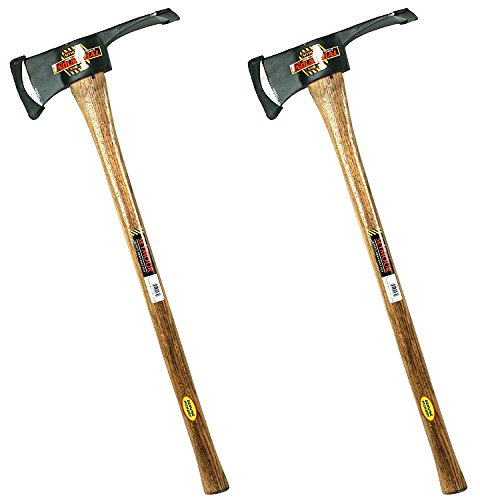 Seymour AX-P3 3-1/2-Pound Pulaski Axe with 36-Inch Hickory Handle (Pack of 2) by Seymour