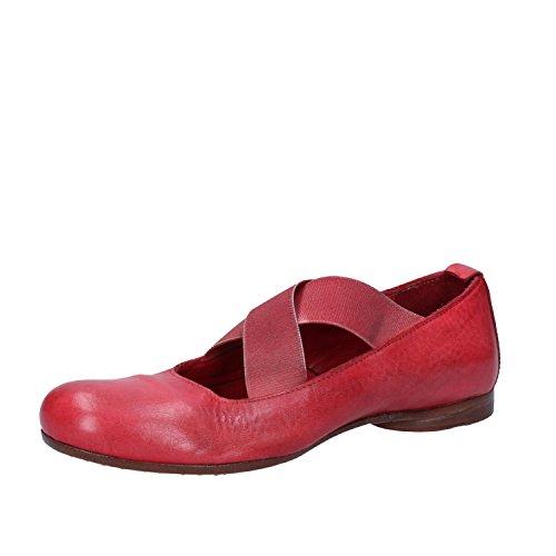 Moma Bailarinas 37 Mujer Rojo Eu Cuero rnARgrqz