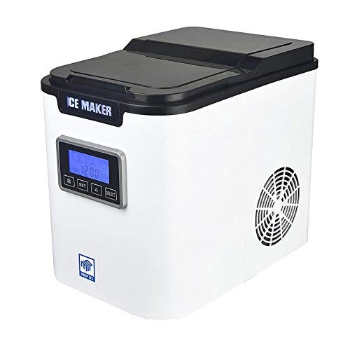 - MRP US Portable Ice Maker IC703 With 3 Selectable Cube Size and Timer(White) for Home, Offices, Schools & Commercial Use.