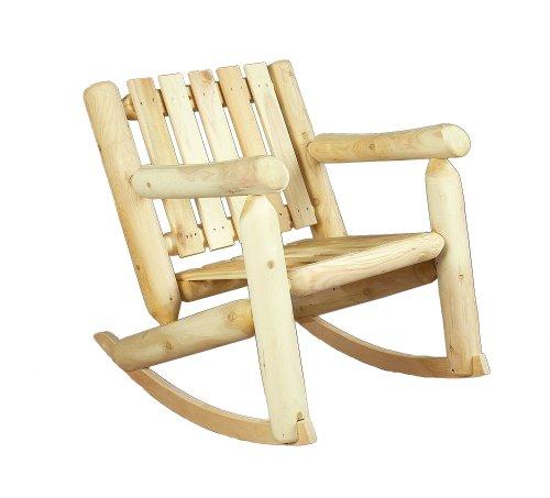 Rustic Natural Cedar Cedarlooks 0100005 Log Rocking Chair