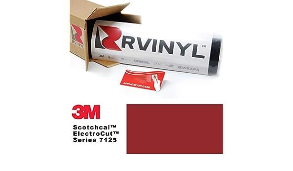 3 M 7125 de profundidad rojo 23 Scotchcal hoja de película rollo de vinilo gráfico – para, Silhouette Cameo CriCut, Craft y cortadores de señal: Amazon.es: Juguetes y juegos