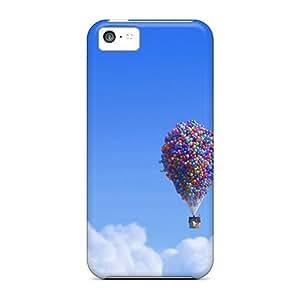 XiFu*Meiiphone 6 plua 5.5 inch House Balloons Print High Quality Frame Cases CoversXiFu*Mei