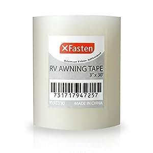 Amazon.com: XFasten RV Awning Repair Tape, 3-Inches x 30 ...