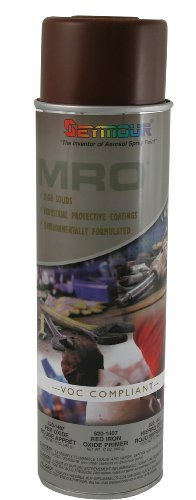 Seymour 620-1407 Industrial MRO High Solids Spray Paint, Red Iron Oxide Primer by Seymour Paint