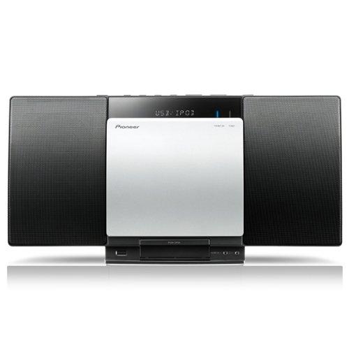 Pioneer CDミニコンポーネントシステム スタイリッシュオーディオ iPod/iPhone対応 Bluetooth機能搭載 X-SMC00BT B00BWFAGQ0 ブラック