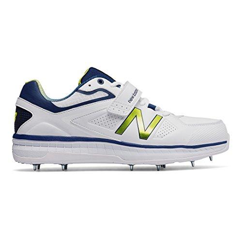 Nuovo Equilibrio 2017 Ck4040 N3 Bowling Cricket Scarpe Bianco / Blu Scuro