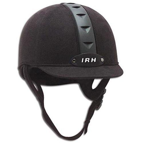 IRH ATH Riding Helmet - Black/Black (S)