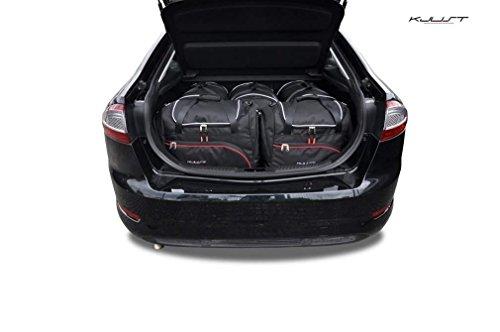 AUTO-TASCHEN MASSTASCHEN ROLLENTASCHEN FORD MONDEO 5D HATCHBACK IV, 2007-2013 CAR BAGS - KJUST