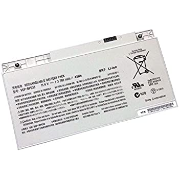 Scit® 43wh/3760mah VGP-BPS33 Battery for SONY VAIO SVT-14 SVT