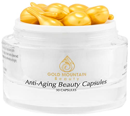 Beauty Capsules with Anti-Aging Serum for Glowing Skin, Skin Care, 30 Count