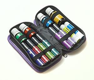 8-бутылки эфирное масло ролл-оны для Pocket Ведущий Дело 5-15ml - синий