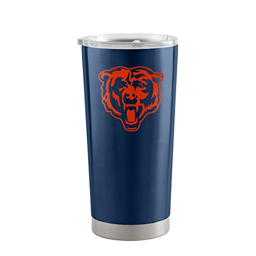Chicago Bears Travel Tumbler - NFL Chicago Bears Ultra Tumbler, 20-ounce