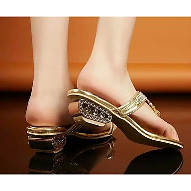 CN33 Pu Women'S Flat 5 Pump 4 UK2 2 5 Basic Spring EU34 Brown Black Basic Purple Pump RTRY Casual Heels US4 IqwI4