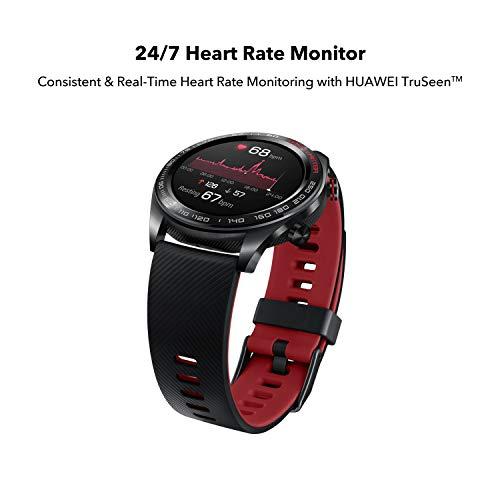 Honor Watch Magic (Lava Black) Lightweight Smart Watch