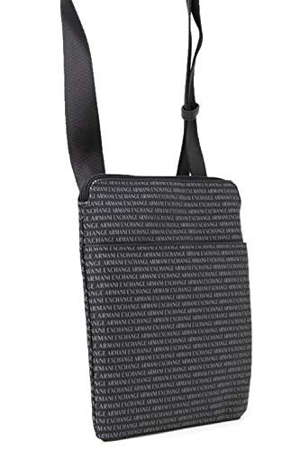 Messenger Armani 952099CC012BLACK Exchange Black Bag Polyester Men's ZwPUwz