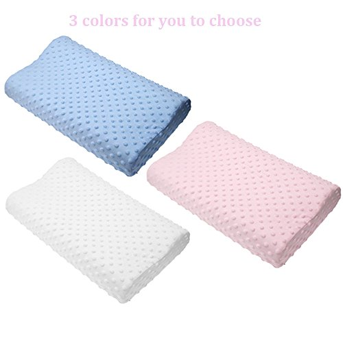 Price comparison product image Memory foam pillow care new 3 colors Orthopedic Latex Neck Pillow Fiber Slow Rebound Memory Foam Pillow Cervical Therapy White