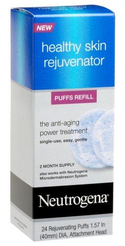 Neutrogena Healthy Skin Rejuvenator Puffs Refills, 24 Count