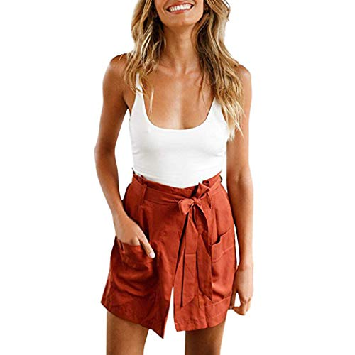 Women 2 Piece Outfit Set Sexy Lace Cami Top and Shorts Set Clubwear Vest and Shorts Self Tie for Women Summer Sexy Bodycon Set]()