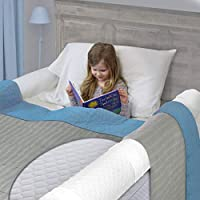 Bed Rails for Toddler | Soft Foam Bed Bumper for Kids, Special Needs, Elderly | Baby Bed Guard | Child Bed Safety Side Rails with Water Resistant Washable Cover [2-Pack]