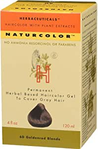 Amazon Com Naturcolor 6d Goldenrod Blonde Hair Dyes 4