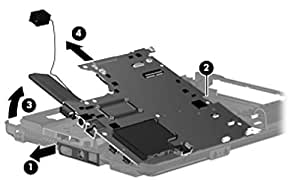 Sparepart: HP Inc. System board (motherboard), 501354-001