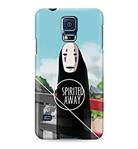 Spirited Away No Face Hard Plastic Snap-On Case Cover For Samsung Galaxy S5