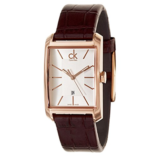Calvin Klein Ladies Window Analog Dress Quartz SWISS Watch (Imported) K2M23620
