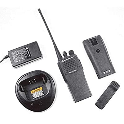 CP200D AAH01QDC9JC2AN Original Motorola Analog & Digital UHF 403-470 MHz Portable Two-way Radio 16 Channels, 4 Watts - Original Package - 2 Year Warranty …: Sports & Outdoors