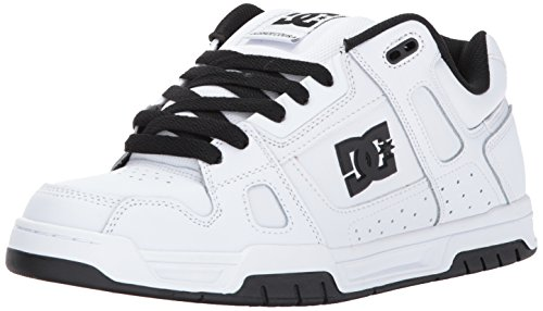 DC Shoes STAG D0320188 Herren Sneaker White/White/Black