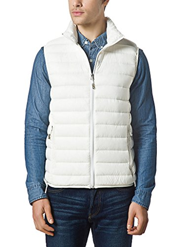 XPOSURZONE Men Packable Lightweight Down Vest Outdoor Puffer Vest ()