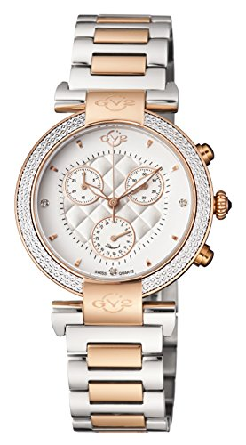 GV2-by-Gevril-Womens-Berletta-Chrono-Swiss-Quartz-Stainless-Steel-Casual-Watch-ColorTwo-Tone-Model-1553