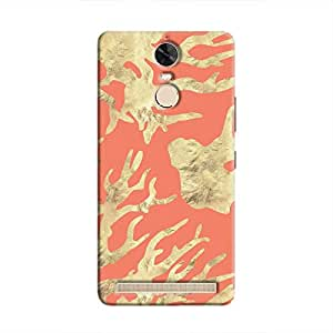 Cover It Up - Red Nature PrintVibe K5 Note Hard case