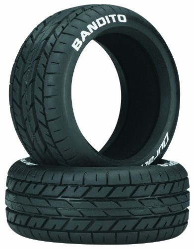(Duratrax Bandito 1:8 Scale Buggy Tires with Foam Inserts, C2 Soft Compound, Unmounted (Set of 2))