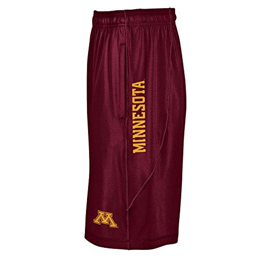 Under Armour NCAA Minnesota Golden Gophers Men's Raid Shorts, Large, Maroon