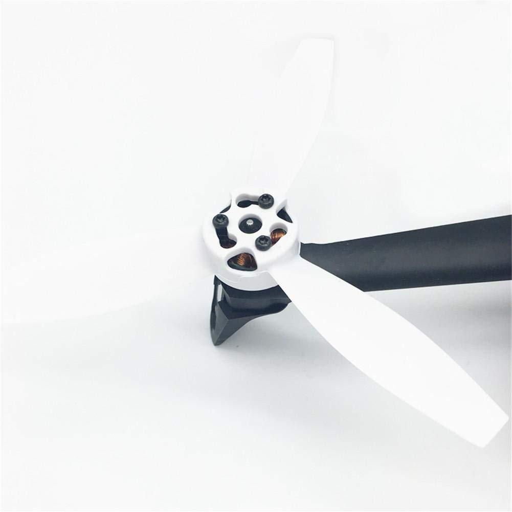 Pangyan990 h/élices de pl/ástico apoyos Rotor para Parrot Bebop 2 Drone Quadcopter color CW CCW Tri-Blade negro rojo blanco 4PCS